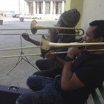 My amigos jammin some jazz on the Malecon, Habana, Cuba.